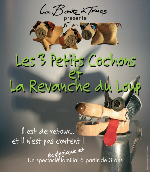 La boite trucs tourn e les 3 petits cochons et la revanche du loup - Leroy merlin brignais ...